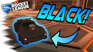 Best Black Decal In Rocket League Update V1 30 Info Rocket League Tips And Tricks Youtube
