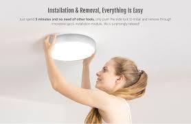 smart led ceiling light ac 220v xiaomi