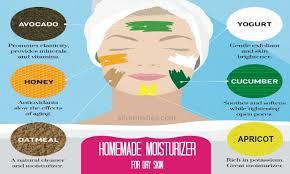 natural homemade moisturizer for dry