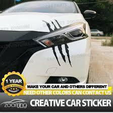 Creative 3d Claw Marks Car Bumper Stickers Vinyl Decal Sticker Scratch Cover Ebay