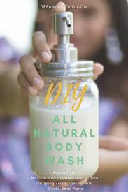diy all natural body wash homemade