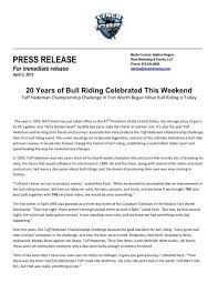 20 Years of Bull Riding Celebrated This Weekend