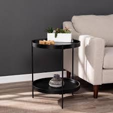garcia black round farmhouse style
