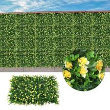 Artificial Grass Wall Panel Boxwood Hedge Mat Privacy Fence Screen Greenery Panel Outdoor And Indoor Decor Plants Fencing Trellis Gates Aliexpress
