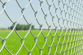 Heavy Galvanised Chain Link Fence Steel Fencing Mesh 1 8m 6ft X 25mtr