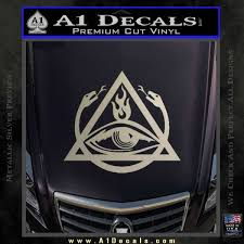 All Seeing Eye Masonic Jesus Fish Car Bike Auto Chrome Emblem Decal Sticker Mostosydestilados Cl