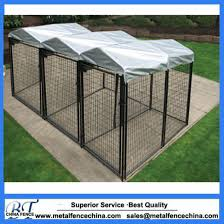 China Outdoor Low Price Galvanized Dog Run Fence Metal Dog Kennel China Easy To Install Dog Kennel And Steel Dog Kennel Price