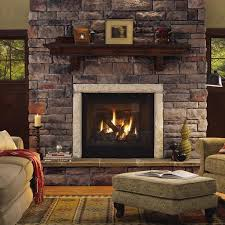 brick and stone for fireplace