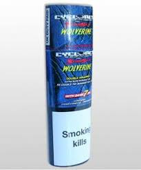 Cyclones tobacco leaf cones with dank 7 wooden tip. Pineapple flavour.