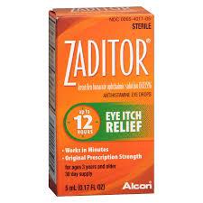 zaditor antihistamine eye drops walgreens