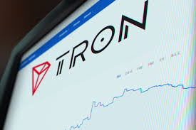 Tron price chart monitor screenshot free image download