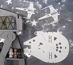 Star Wars Ship Kids Wall Decals Pottery Barn Kids