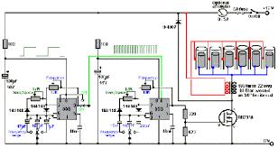 555 timer pulse width modulation circuit