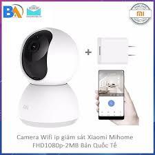 Camera giám sát Xiaomi Mi Home quay 360 độ 1080P - 2.0 , Wifi IP , Hồng  ngoại ban đêm- Phiên Bản Quốc Tế DGW - Bảo Hành 12 Tháng