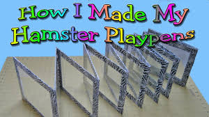 How I Made My Hamster Playpens By Hammy Time Hamster Diy Hamster Toys Hamster