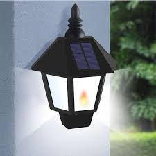 led solar powered outdoor waterproof