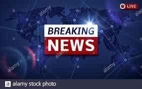 Breaking world news live vector tv ...