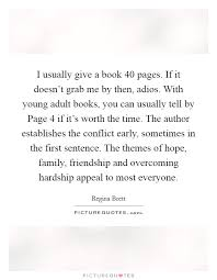 i usually give a book pages if it doesn t grab me by then