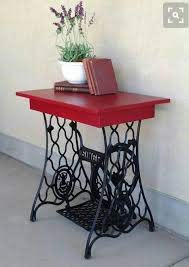 Pin by Twila Gibson on For the Home | Sewing table repurpose, Singer sewing  tables, Sewing machine tables