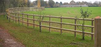 Wooden Post And Rail Fence Essex Field Fencing