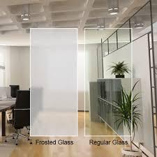opaque clear glass custom cut