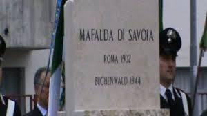 Inaugurazione della stele dedicata a Mafalda di Savoia - 17/04/10 ...