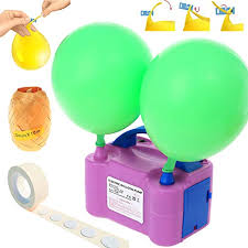 Party Zealot Electric Balloon Inflator Air Pump Massive Balloons ...