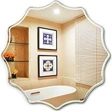 polygon bathroom mirror wall mounted