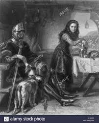 Etching by Henrietta Mary Ada Ward. Scene in a hut, with Joan of Arc Stock  Photo - Alamy