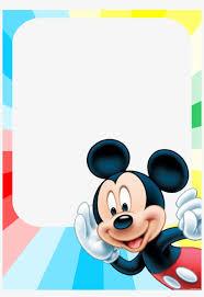 Invitacion De Mickey Mouse Invitaciones De Cumpleanos Mickey