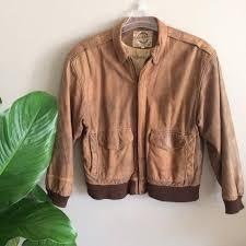 g iii brown leather jacket designer