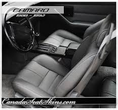 1992 chevrolet camaro leather upholstery