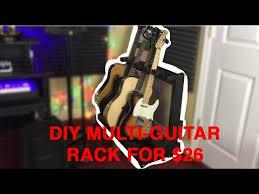 diy multi guitar rack stand for 26