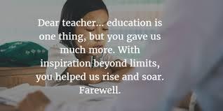 show your appreciation retirement quotes for teachers