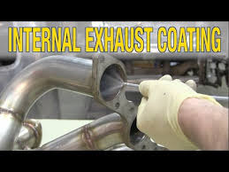 how to paint headers exhaust