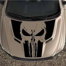 Punisher Skull Mopar Logo 4 Black Only Vinyl Decal Hood Side For Car Truck Car Truck Graphics Decals Motors Tamerindsa Com Ar