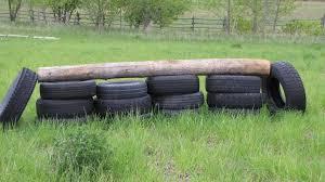 diy tire horse jump petdiys
