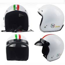 New Design Italy Flag Decals Adults Classic Abs Motorcycle 3 4 Open Face Helmet Harley Glass Kids Cruise Half Racing Helmet Dot Harley Davidson Motorcycle Helmet Harley Shirthelmet Wholesale Aliexpress