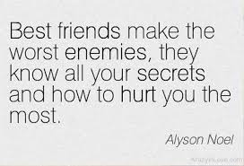 great inspirational best friend worst enemy quotes