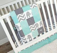 elephant nursery baby bedding crib set
