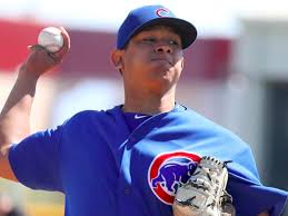inkl - Cubs call up touted pitching prospect Adbert Alzolay to make  big-league debut Thursday - Chicago Sun-Times