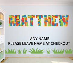 Baby Knows Best New In Personalised Wall Stickers Lego Design 14 49 Postage Https Www Babyknowsbest Co Uk Products Personalised Lego Brick Design Wall Sticker Name Decal Facebook