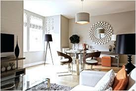 uk round fray white floor wood framed