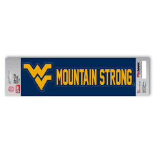 West Virginia Mountaineers Mountain Strong Decal Sports Fanz