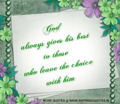 god always give the best god quotes thoughts god messages