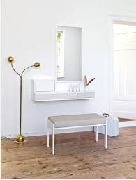 dressing table design wall mounted