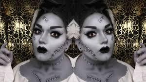 bride of frankenstein makeup you