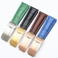 20mm genuine leather watch band strap