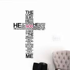 Nhà máy Giá phim hoạt hình TYPOGRAPHY CHRISTIAN Chúa THÁNH GIÁ WALL ART  STICKER DECAL Chúa Giêsu Kitô Thi Thiên Hãy Cầu Nguyện Kinh Thánh Ngủ Bức  Tranh Tường|wall art stickers
