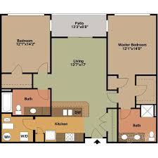 Floor Plan Style F1 (ADA) - Jackson Square